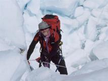 07a2-Lhotse 2004 - Romano in salita Ice Fall